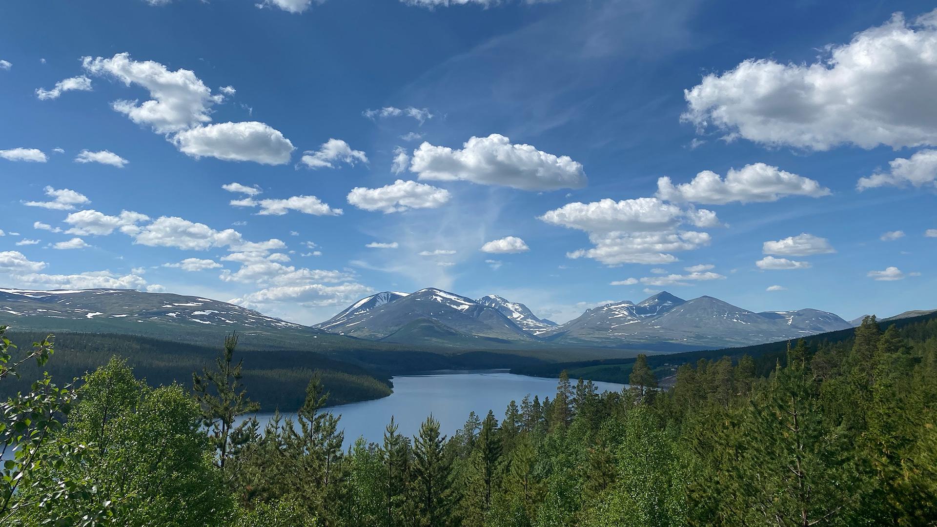 Utsikt inn i Rondane