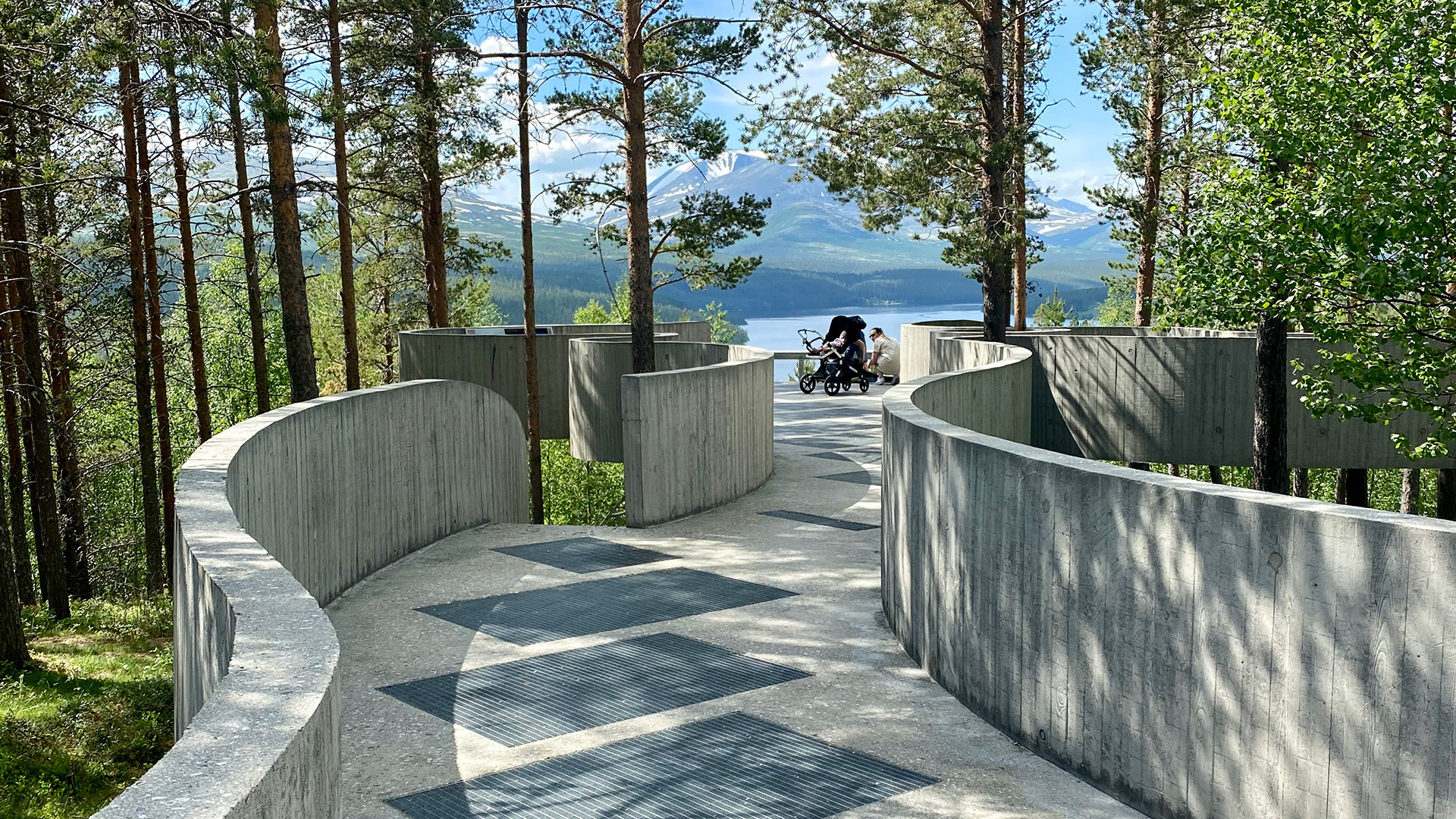Sohlbergs plass, viewpoint.
