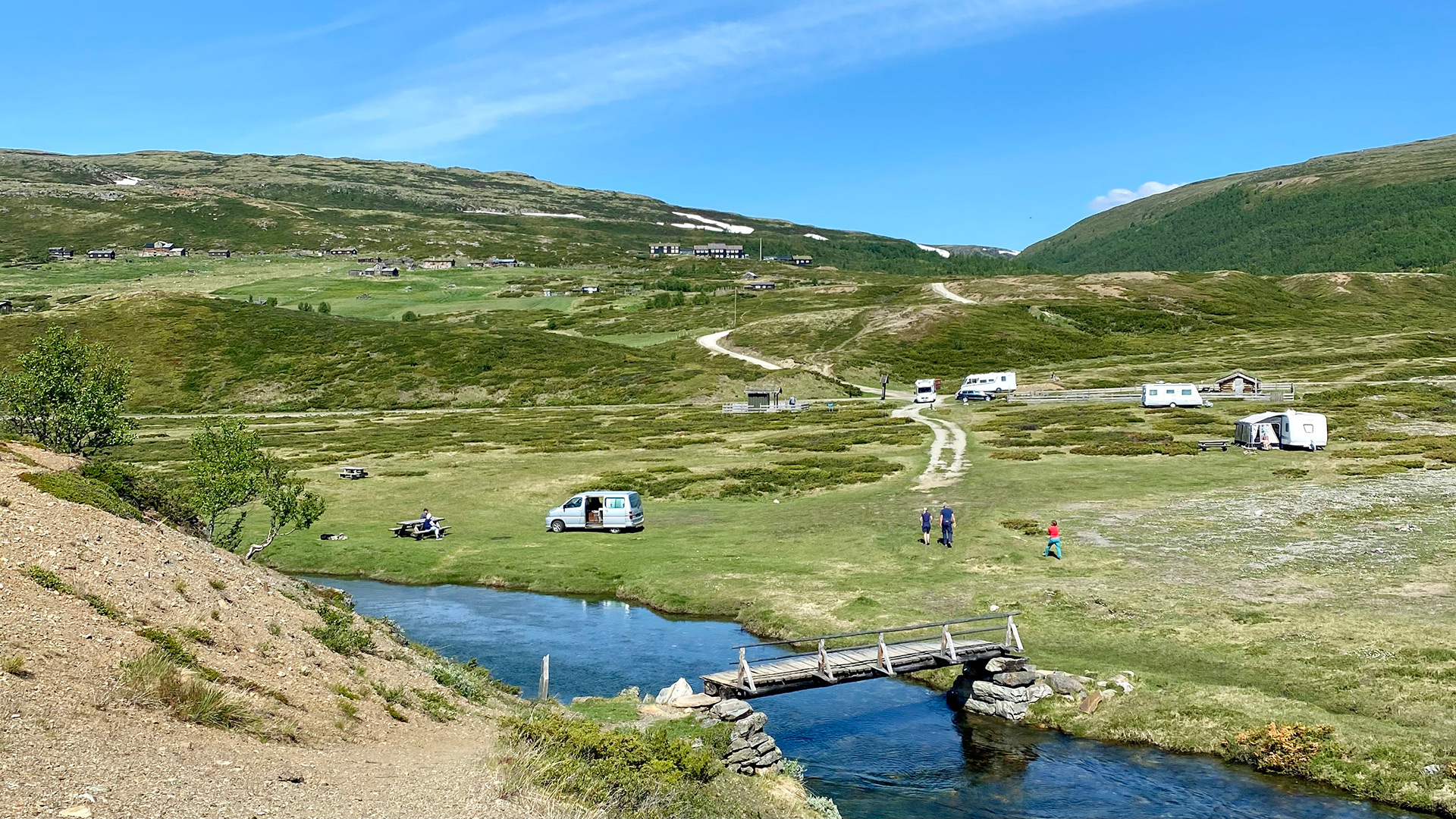 Camping by Rondane.